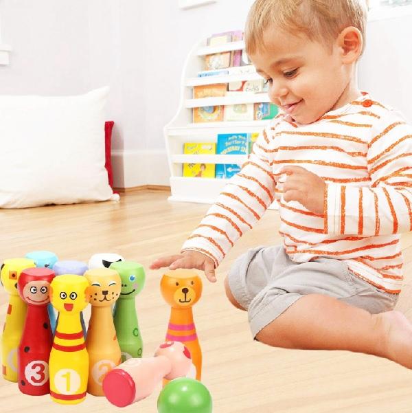 Malé drevené kolky pre deti