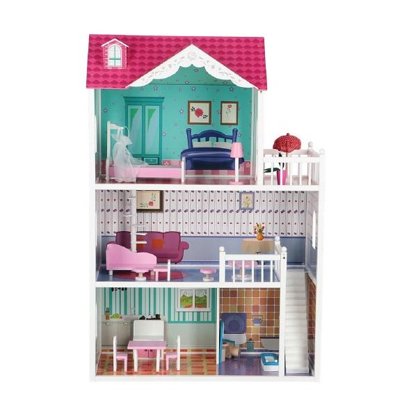 Drevený domček pre bábiky Alicja