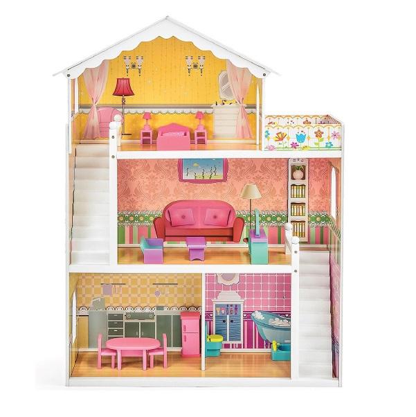 Drevený domček pre bábiky Eliza