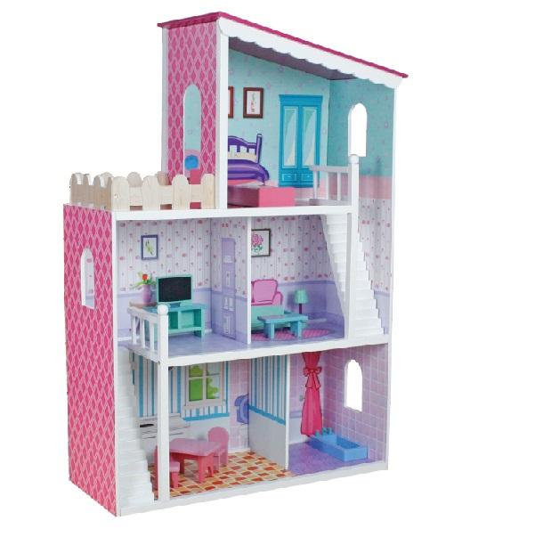 Drevený domček pre bábiky Oliwka