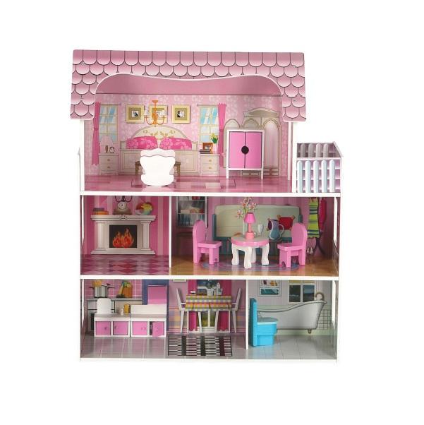 Drevený domček pre bábiky Pola