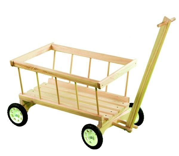 Drevený vozík - rebriňák