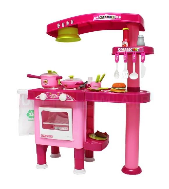Dvojstranná detská kuchynka s príslušenstvom