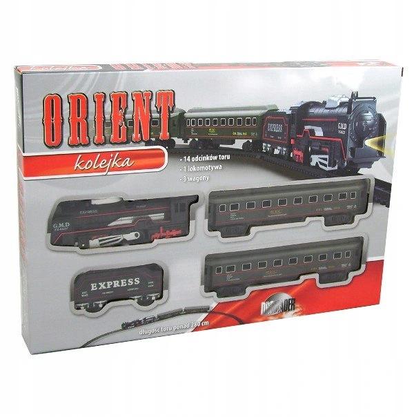 Elektrický vláčik Orient express