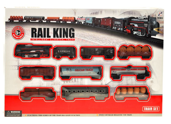 Elektrický vláčik Rail King