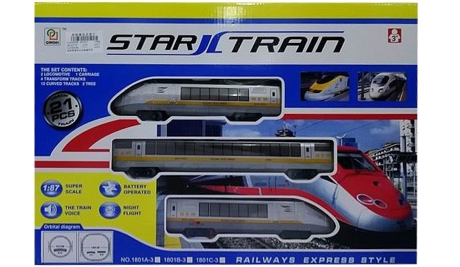 Elektrický vláčik Star Train