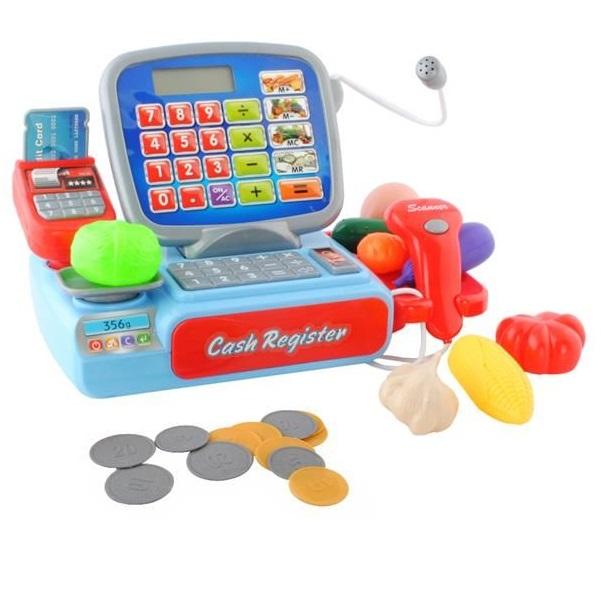 Elektronická pokladňa s doplnkami