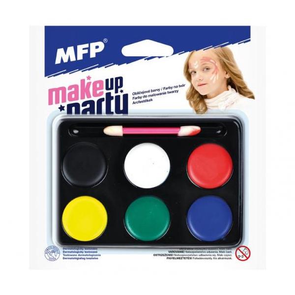 Farby na maľovanie tváre