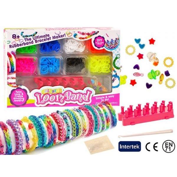 Farebné gumky Loom Bands 600 ks