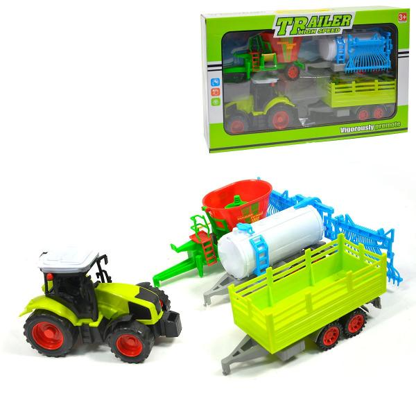 Farma - Traktor s vlečkami
