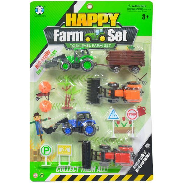 Farmársky set traktorov