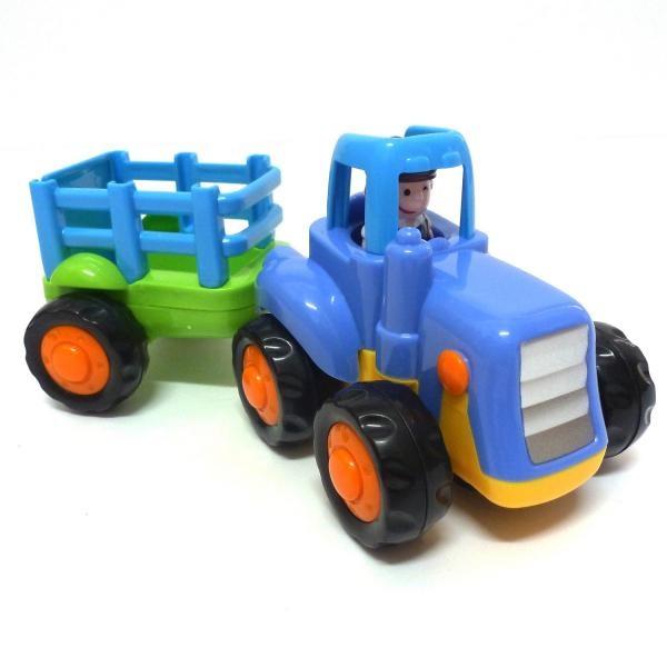 Traktor na zotrvačník 17 cm