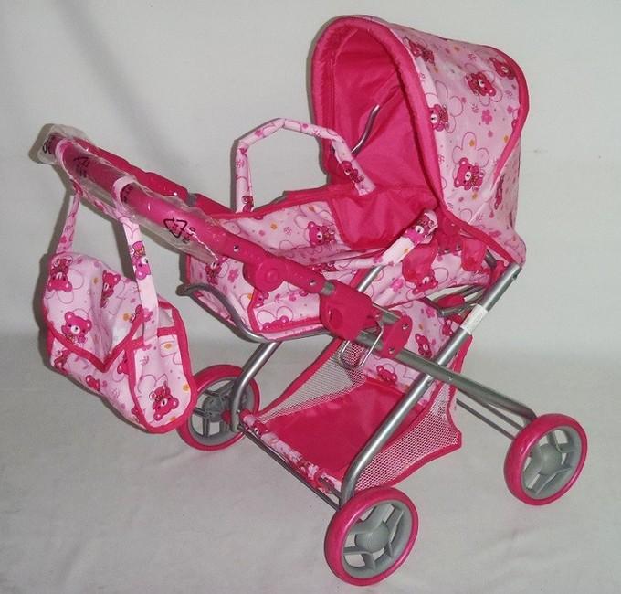Hlboký kočík pre bábiky Baby Mix 9379-M1104