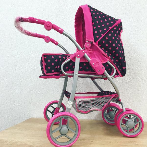 Hlboký kočík pre bábiky Baby Mix 9661-M1218