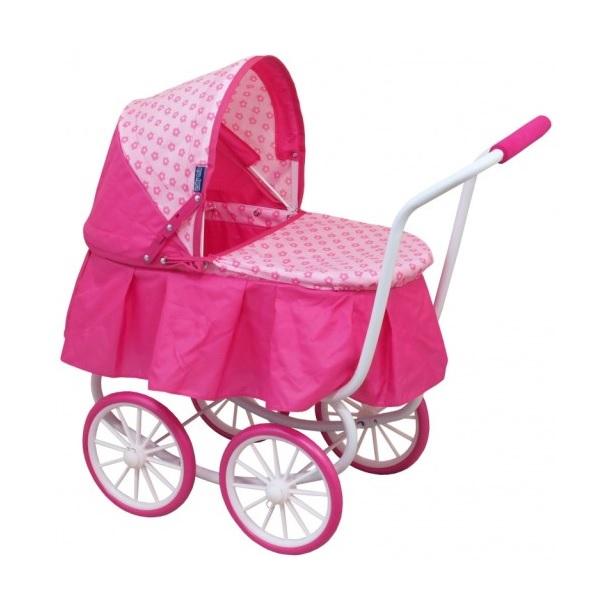 Hlboký kočík pre bábiky Baby Mix 9678-M1807W