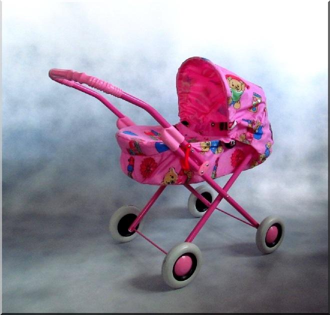 Hlboký kočík pre bábiky Kaja