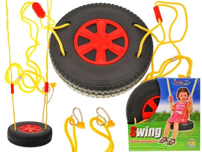 Hojdačka v tvare kolesa