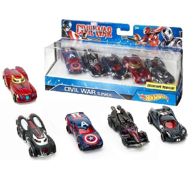 Hot Wheels súprava aut Marvel