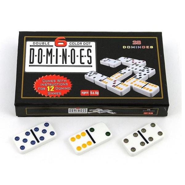 Hra domino v kazete