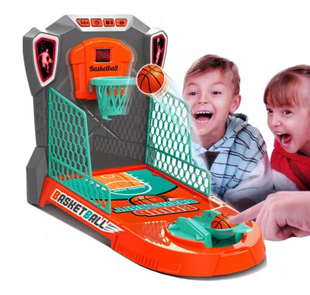 Hra mini basketbal Pohyblivý košík so zvukom