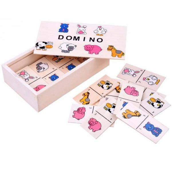 Hra - obrázkové domino zvieratká