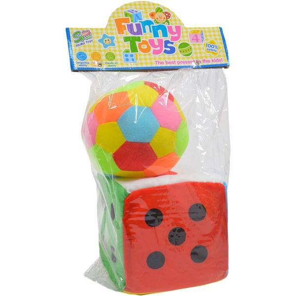Hrkálka lopta + kocka