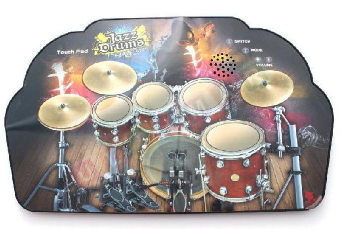 Hudobná podložka - dotykové bubny