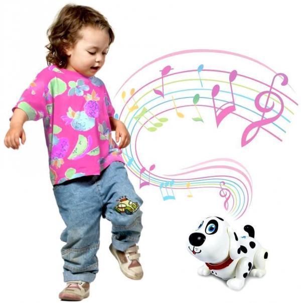 Interaktívny chodiaci psík dalmatínec