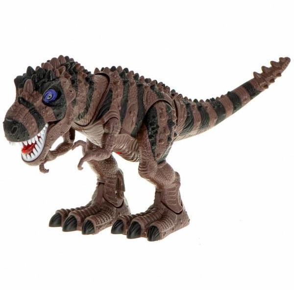 Interaktívny Dinosaurus T-REX hnedý