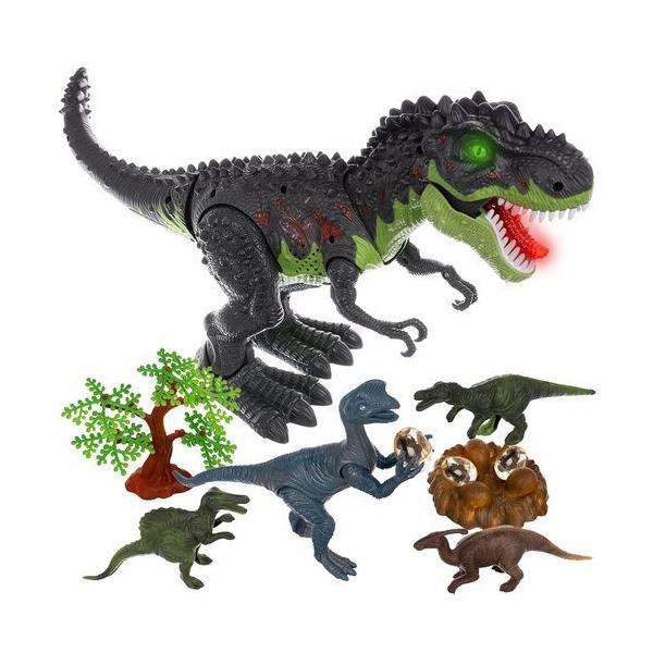 Interaktívny Dinosaurus T-REX s hniezdom