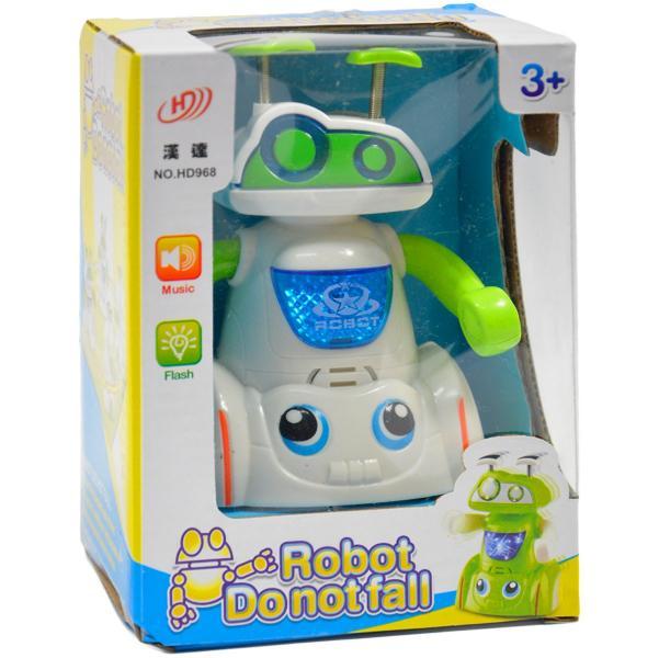 Interaktívny robot so svetlom a zvukom