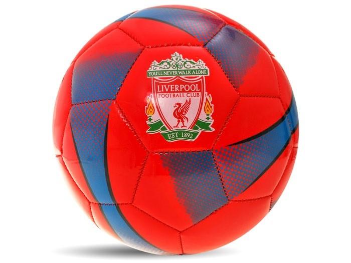 Klubová futbalová lopta Liverpool