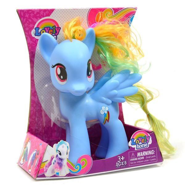 Koník Pony s hrivou so svetlom a zvukom