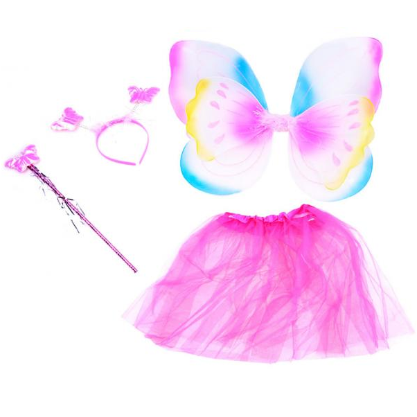 Kostým motýlia víla s krídlami