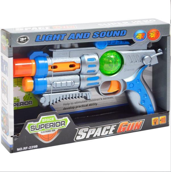 Kozmická pištoľ SUPERIOR so svetlom a zvukom