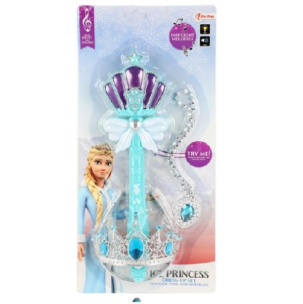 Kráľovský set princeznej Elsy - Ľadové kráľovstvo