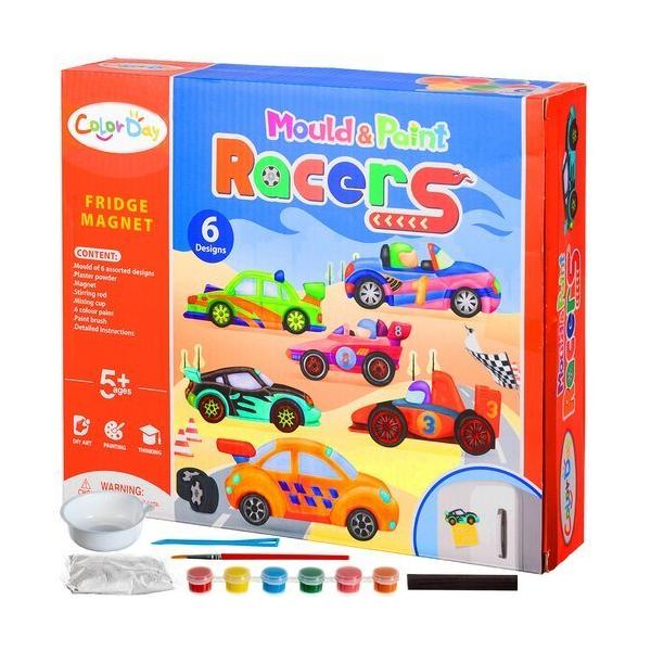 Kreatívna súprava magnetov - auta