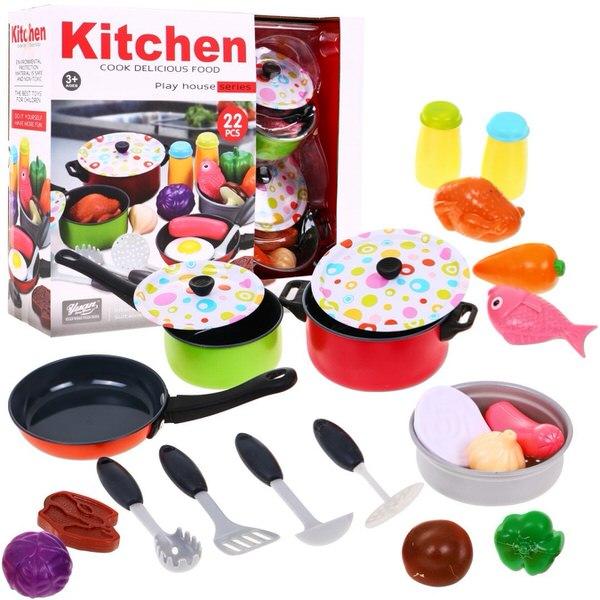 Kuchynská súprava s doplnkami 22 dielna