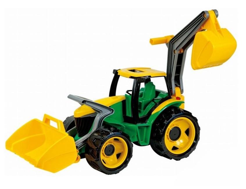 Lena traktor s lyžicou a bagrom