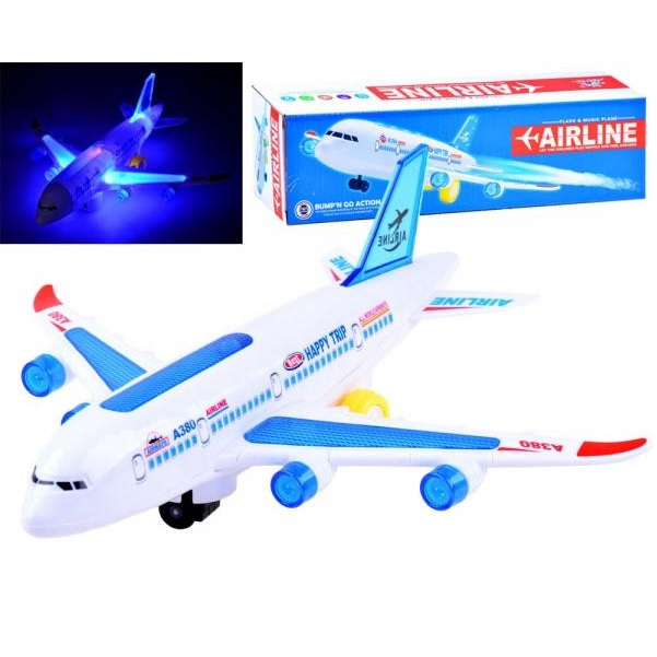 Lietadlo Airbus A380 na batérie