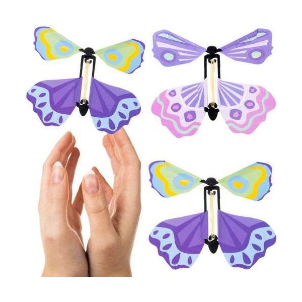 Lietajúce motýle - sada 3 ks