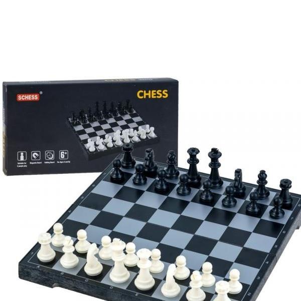 Magnetický šach 2 v 1