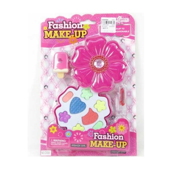 Make-up pre dievčatá v tvare kvetu