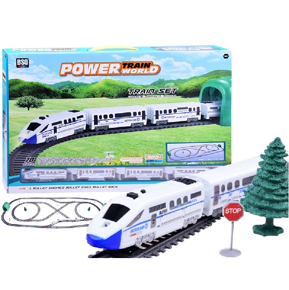 Moderný elektrický vláčik