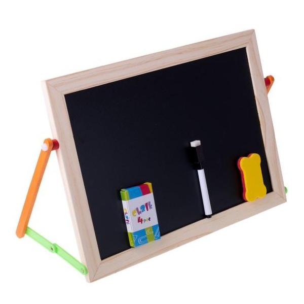 Multifunkčná obojstranná tabuľa pre deti