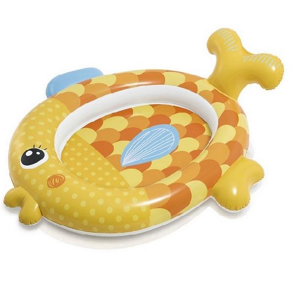 Nafukovací bazénik zlatá rybka INTEX 57111