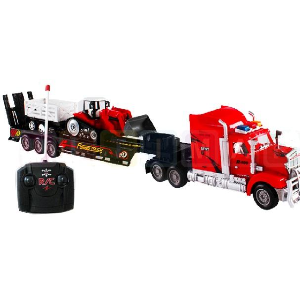 Nákladné auto R/C + pásový traktor