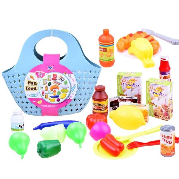 Nákupná taška s potravinami