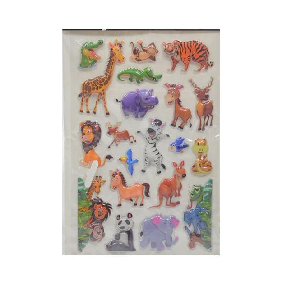 Nálepky Make Stickers - zvieratká