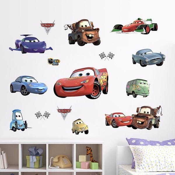 Nálepky na stenu - Cars